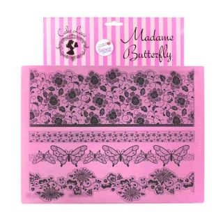 Cake Lace Mat MADAME BUTTERFLY