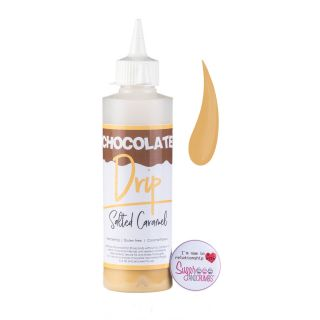 Chocolate Drip SALTED CARAMEL Chocolate Icing 250g