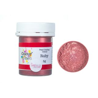 Colour Splash Dust PEARL RUBY 5g