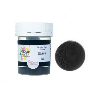 Colour Splash Dust MATT BLACK 5g