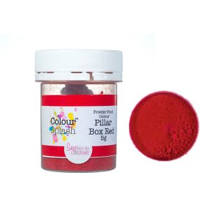 Colour Splash Dust MATT Pillar Box Red 5g