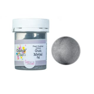 Colour Splash Dust PEARL GUN METAL SILVER 5g