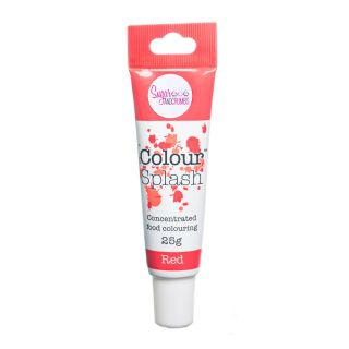 Colour Splash Food Colouring Gel RED 25g