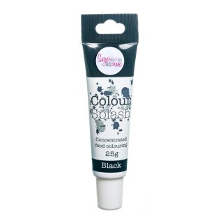 Colour Splash Food Colouring Gel BLACK 25g