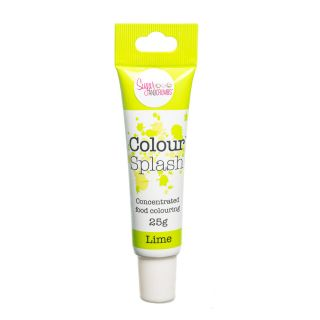 Colour Splash Food Colouring Gel LIME 25g