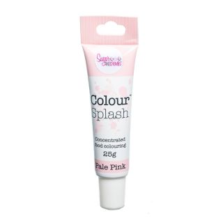 Colour Splash Food Colouring Gel PALE PINK 25g