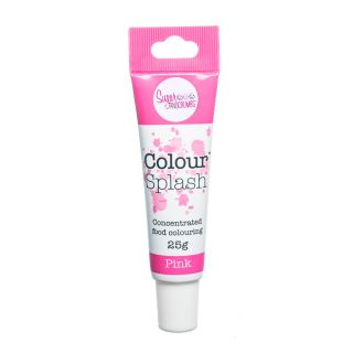 Colour Splash Food Colouring Gel PINK 25g