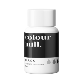 Colour Mill Oil Based Colouring BLACK 20ml