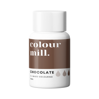 Colour Mill Oil Based Colouring CHOCOLATE 20ml