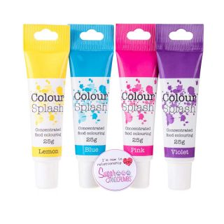 Colour Splash Food Colouring Gel UNICORN BUNDLE