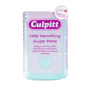 Culpitt Sugarpaste LIGHT BLUE 1kg
