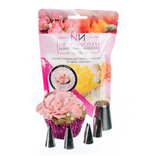Nifty Nozzles CUPCAKE BOUQUET Set of 5