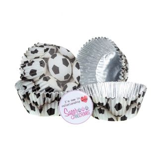 Wilton Cupcake Cases SOCCER Pack of 36