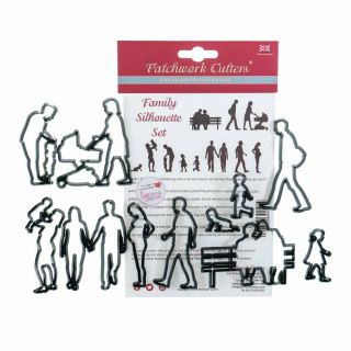 Patchwork Cutters FAMILY Silhouettes