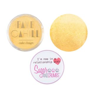 Faye Cahill Dust SHIMMER GOLD 10ml Small Pot