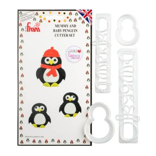 FMM Cutters Mummy and Baby PENGUIN
