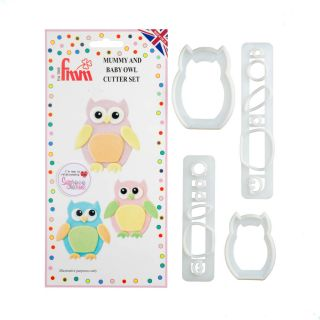 FMM Cutters Mummy and Baby OWL