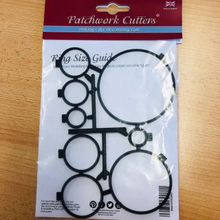 Patchwork Cutters RING SIZE GUIDE
