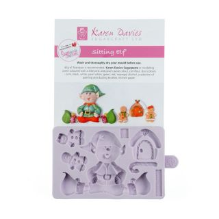 Karen Davies Silicone Mould Sitting ELF