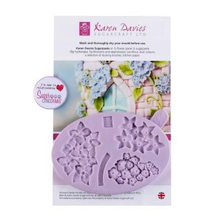 Karen Davies Silicone Mould Filler Flowers