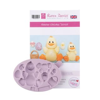 Karen Davies Silicone Mould Easter Chicks