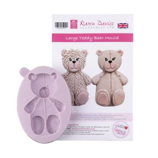 Karen Davies Silicone Mould LARGE Teddy