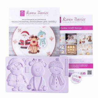 Karen Davies Silicone Mould Christmas Cookie 2019