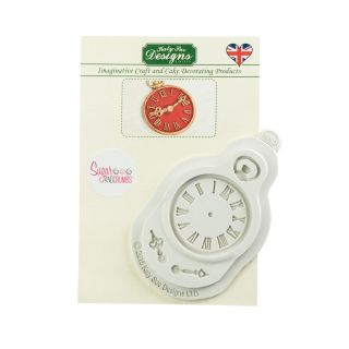 Katy Sue Silicone Mould CLOCK