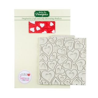 Katy Sue Silicone Mould HEARTS
