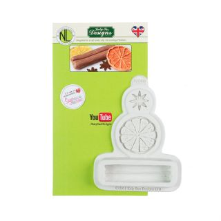 Katy Sue Nicholas Lodge Silicone Mould WINTER SPICES