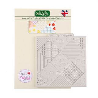 Katy Sue Silicone Mould PATCHWORK QUILT