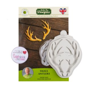 Katy Sue Silicone Mould SMALL ANTLERS