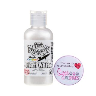 Magic Colours Airbrush Liquid METALLIC PEARL WHITE 55ml