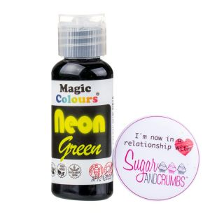 Magic Colours Gel NEON GREEN 32g