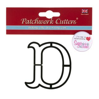 Patchwork Cutters Large Letter D