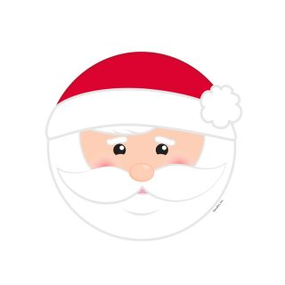 PhotoCake Round BE JOLLY SANTA