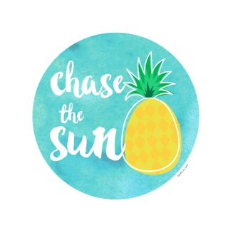 PhotoCake Round CHASE THE SUN