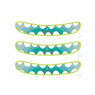 PhotoCake Strips MONSTER MOUTH BLUE