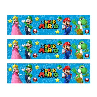 PhotoCake Strips SUPER MARIO