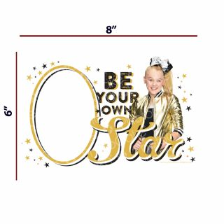 PhotoCake A4 Personalised JoJo Siwa - Be Your Own Star