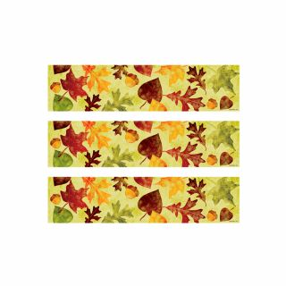 PhotoCake Strips MODERN FALL LEAVES