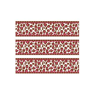 PhotoCake Strips PINK CHEETAH
