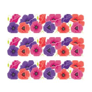 PhotoCake Strips POPPIES