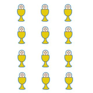 PhotoCake Round COMMUNION CHALICE