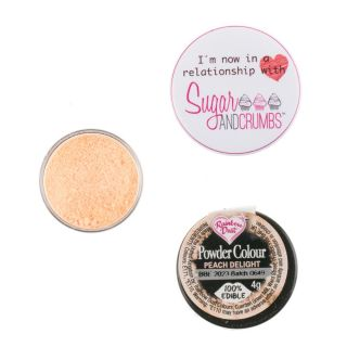 Rainbow Dust Matt Powder Colour PEACH DELIGHT