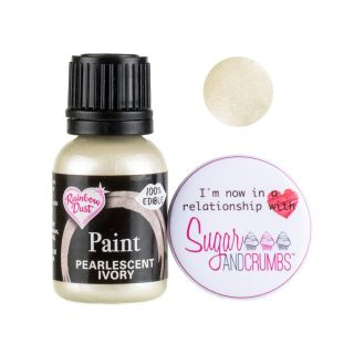 Rainbow Dust Paint PEARLESCENT IVORY