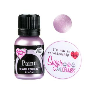 Rainbow Dust Paint PEARLESCENT LILAC