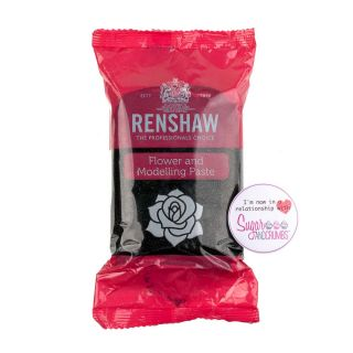 Renshaw Flower and Modelling Paste DAHLIA BLACK 250g