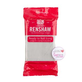 Renshaw Sugarpaste Ready to Roll COOL GREY 250g