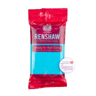 Renshaw Sugarpaste Ready to Roll TURQUOISE 250g